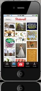 Pinterest iPhone App Screenshot
